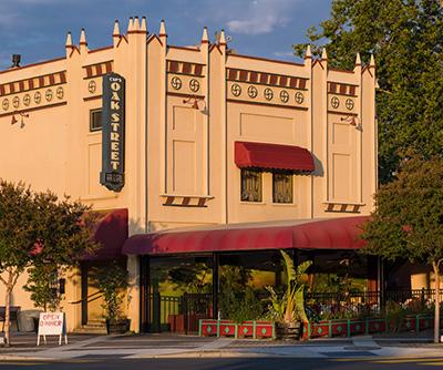 caps restaurant exterior